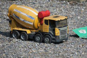 Transport betonu z betoniarni